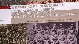 Beirões na I Guerra Mundial