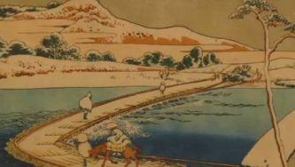 Arte na Gulbenkian: estampa do pintor Hokusai