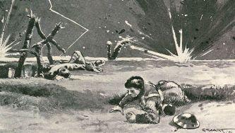 A artilharia e as metralhadoras na I Guerra Mundial