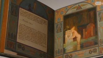 Arte na Gulbenkian: livro de Pierre Louys
