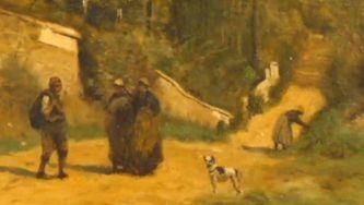 Arte na Gulbenkian: quadro de Camille Corrot