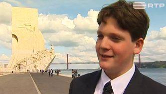 Luke, o jovem empreendedor que venceu o bullying