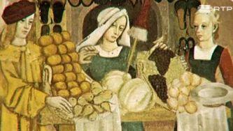 O comércio e os artesãos na idade média