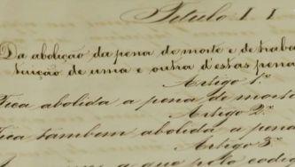 A abolição da pena de morte em Portugal