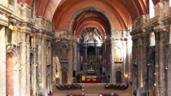 Barroco Joanino no altar da Igreja de S. Domingos