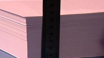 Será possível dobrar um papel cinquenta vezes?