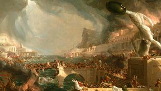 A queda do último imperador Roma