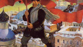 A Revolução de Outubro na Rússia
