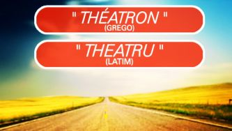 Os vários papéis da palavra teatro