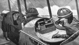 A aviação, curiosidades de uma nova arma