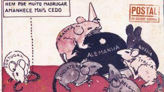 As caricaturas do inimigo eram bom negócio