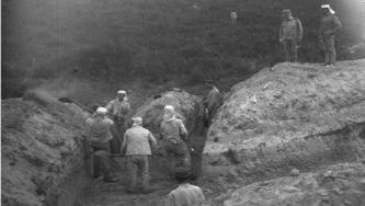 Aprendendo a escavar uma trincheira