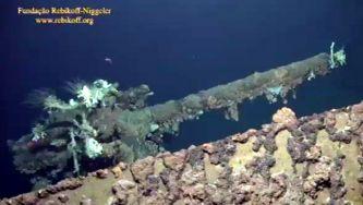 Submarino alemão afundado nos Açores durante a II Guerra Mundial