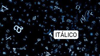 Itálico, criação de um mestre tipógrafo
