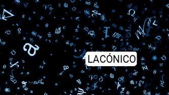 Lacónico, uma palavra espartana