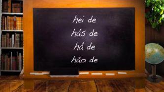 Regras de aplicação do hífen: verbo haver e outros casos