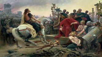 Rendição de Vercingétorix a Júlio César