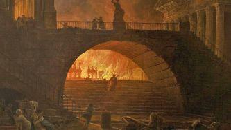 O incêndio de Roma