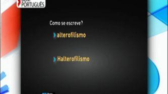 Alterofilismo ou halterofilismo, qual o nome desta modalidade?