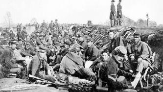 Início da guerra civil americana