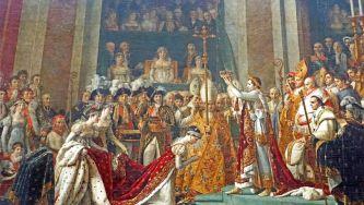 A coroação de Napoleão Bonaparte