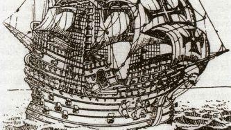 """Naufrágio da nau """"Flor de la Mar"""" no Estreito de Malaca"""