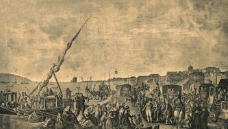 Partida de D. João VI e da corte para o Brasil
