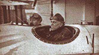 Início da viagem aérea de Gago Coutinho e Sacadura Cabral