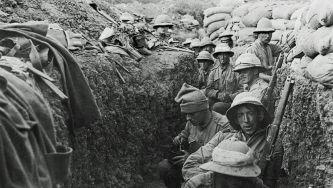 Fim da batalha de Gallipoli, na Turquia