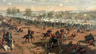Batalha de Gettysburg, nos EUA