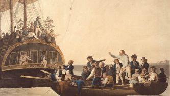 Revolta no navio Bounty