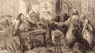 A prisão dos Templários em França