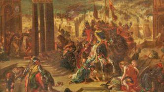Saque de Constantinopla pelos Cruzados