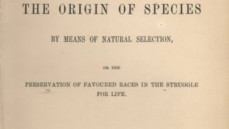 Publicação da Origem das Espécies, por Charles Darwin