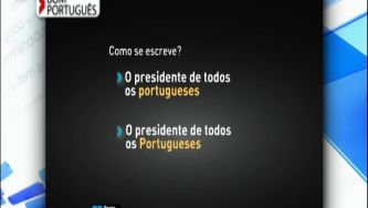 Portugueses escreve-se com maiúscula?