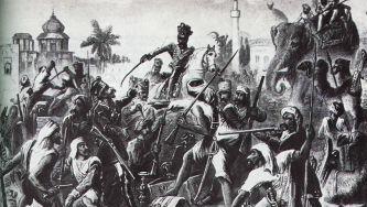 Revolta dos Cipaios, na Índia
