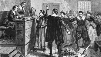 Últimas execuções no caso das Bruxas de Salem