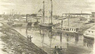 Inauguração do Canal do Suez, no Egipto