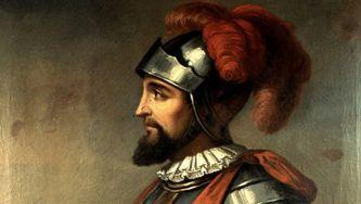 A chegada de Vasco Núñez de Balboa ao Oceano Pacífico