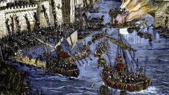 Início do segundo cerco de Paris pelos vikings