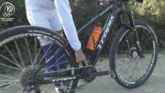 As bicicletas para BTT