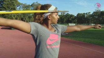 Atletismo: o lançamento do dardo