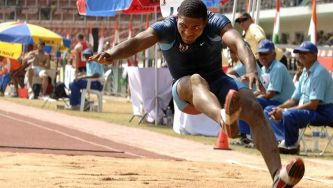Atletismo: salto em comprimento