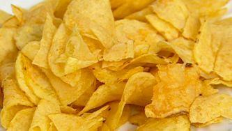 Batatas fritas de pacote ou um shot de óleo