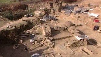 Achados arqueológico na barragem do Sabor