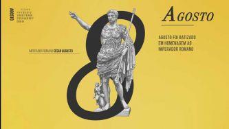 Agosto, homenagem ao imperador Augusto