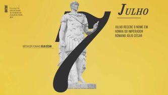 Julho, o mês em que nasceu Júlio César