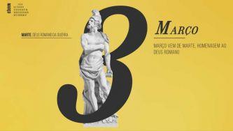 Março, homenagem ao deus Marte