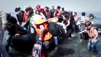Malak, a criança síria que fugiu para a Grécia