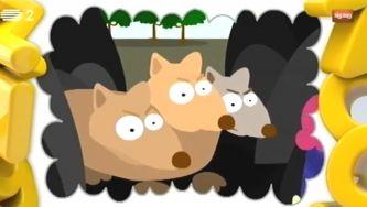 Cérbero, um cão com várias cabeças